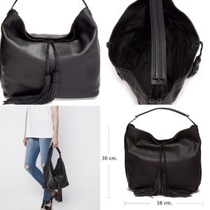 BNWOT Never used Rebecca Minkoff Isobel Hobo Black